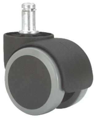 forgószék kerék (szürke) padlókímélő 50 mm