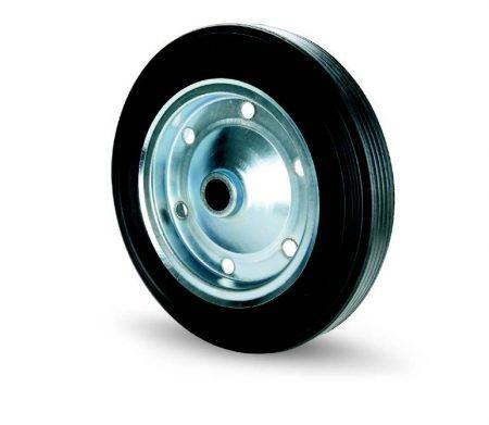 Tömörgumis fémfelnis kerék 380 mm