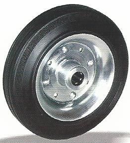tömörgumis fémfelnis kerék 250 mm