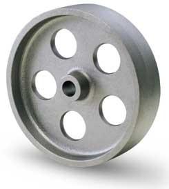 Öntöttvas kerék 125 mm