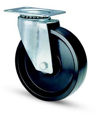 Hőálló kerék (fenolic) forgó 125 mm