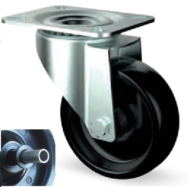 Hőálló INOX kerék (teflonpersely) 100