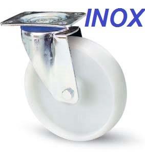 INOX poliamid forgó villával