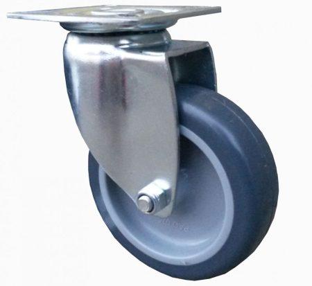 szürke nyommentes kerék 75 mm talpas villa
