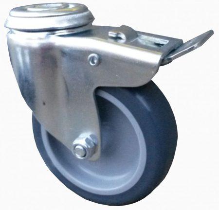 szürke nyommentes kerék hátfuratos-fékes villával