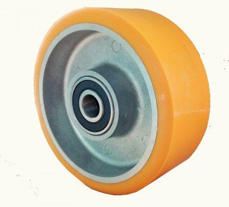 Aluminium kerék PUR futófelülettel