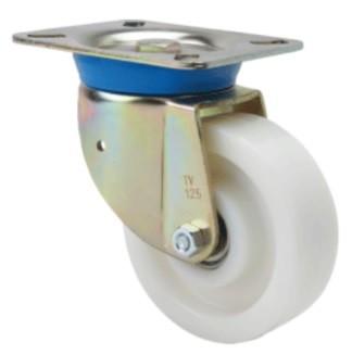poliamid kerék forgó villa 125 mm