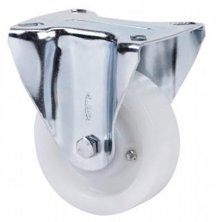 Nagy teherbírású poliamid kerék fix villa 80 mm