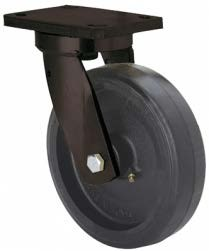 Öntöttvas kerék gumi futófelülettel forgó villa 250x75