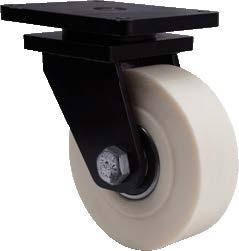 Extra teherbírású poliamid kerék forgó villában - 200mm