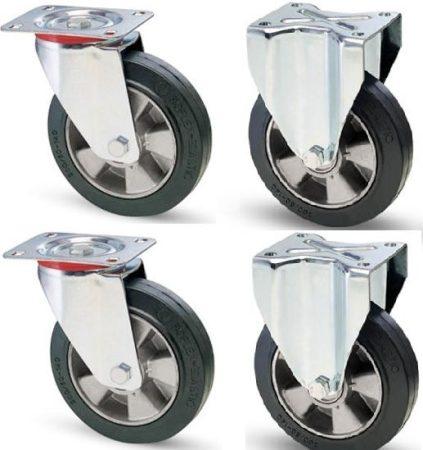 Elasztikus gumis kerék szett F-Fix 200 mm