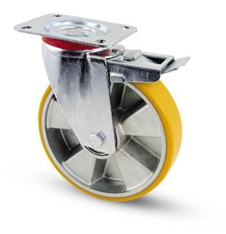 AVP kerék forgó-fékes villa 125 mm