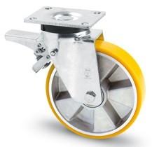 AVP+erősített kerék forgó-fékes 160 mm