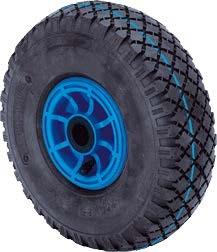 """molnárkocsi kerék felfújható görgőscsapágy (10""""x3.00-4)"""