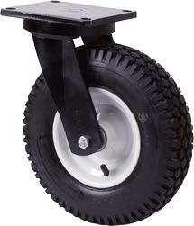 Nagy teherbírású molnárkocsi kerék forgó villa 320 mm