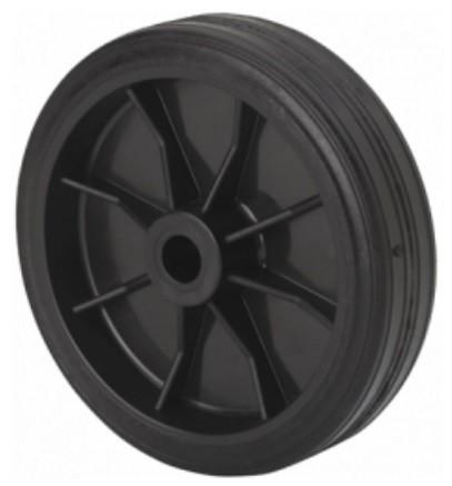 műanyag kerék (250 mm) gumi futófelülettel