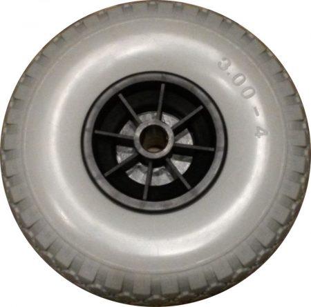 """molnárkocsi kerék tömör siklócs.(10""""x3.00-4)"""