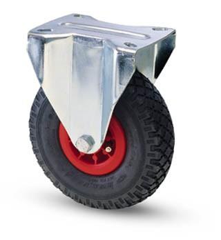 molnárkocsi kerék fix villa 260 mm