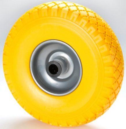 """molnárkocsi kerék tömör görgőscs.(10""""x3.00-4)"""