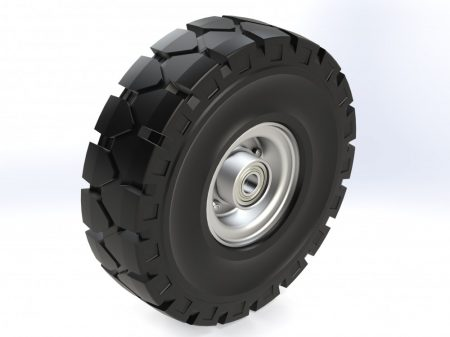 Tömörgumis acélfelnis kerék 250mm