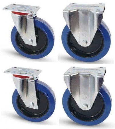 Elasztikus gumis kerék szett F-Fix 100 mm