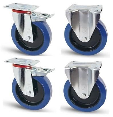 Elasztikus gumis kerék szett FF-Fix 100