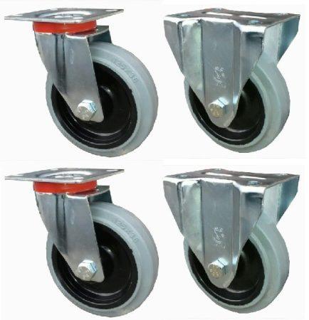 Elasztikus gumis kerék szett F-Fix 125