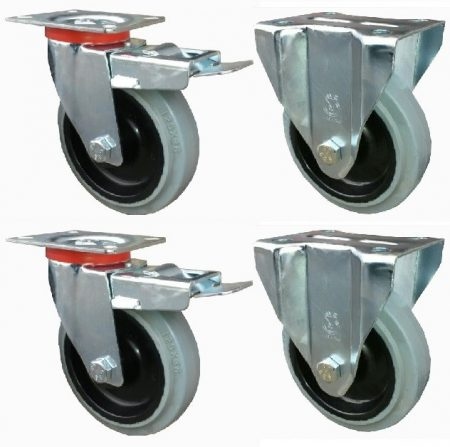 Elasztikus gumis kerék szett FF-Fix 125