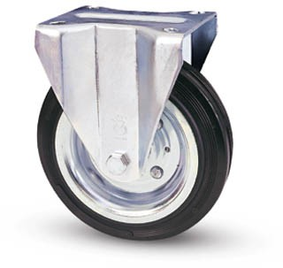 tömörgumis kerék fix villa 100 mm