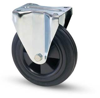 tömörgumis kerék fix villa 125 mm