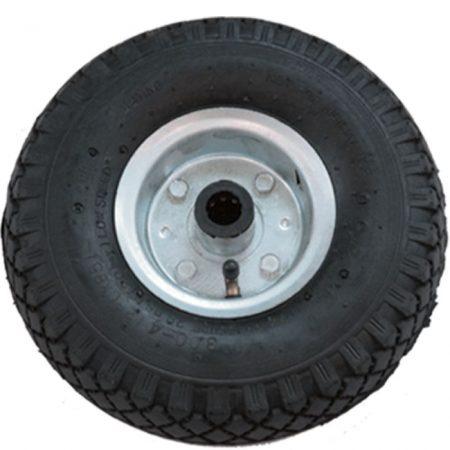 """molnárkocsi kerék fém felnis (10""""x3.00-4)"""