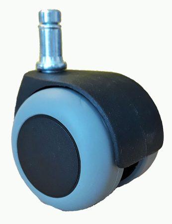 forgószék-kerék 50 mm (szürke) padlókímélő