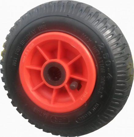 """molnárkocsi kerék felfújható görgőscs.(8""""x2.50-4)"""
