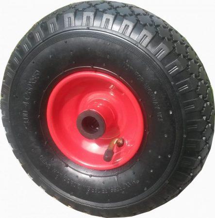 """molnárkocsi kerék felfújható görgőscs.(10""""x3.00-4)"""