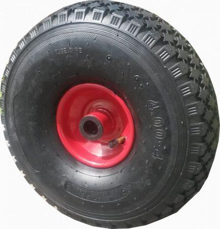 """molnárkocsi kerék kerék felfújható görgőscs.(11""""x4.00-4)"""