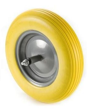 """Talicska kerék tömör siklócs.(14""""x3.50-8)"""