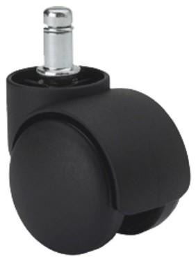 forgószék kerék fekete 50 mm