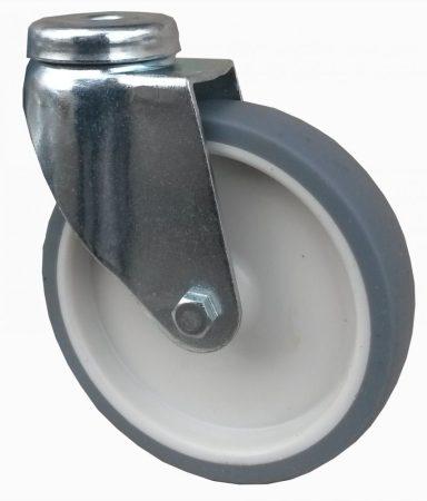 szürke nyommentes kerék hátfuratos villa 100 mm