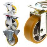 Aluminium kerekek PUR futóf. (150-1000 kg)