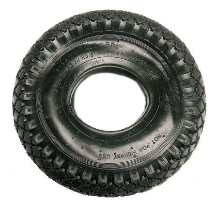 Molnárkocsi kerékhez külső gumi (3.00-4) 260x85mm